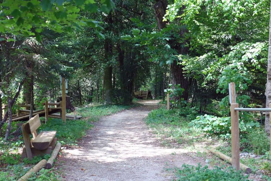 Le parc du Prieuré